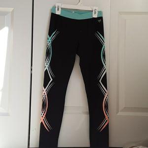 Black leggings with designs
